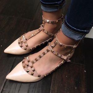 Shoes - Rockstud style flats